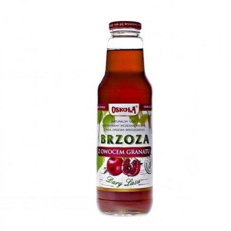 OSOKOŁA sok z brzozy z granatem 750 ml.