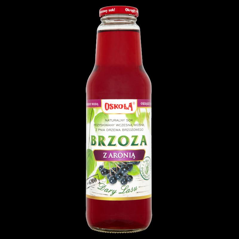 OSOKOŁA sok z brzozy z aronią 750 ml.