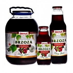 OSOKOŁA sok z brzozy z żurawiną 750 ml