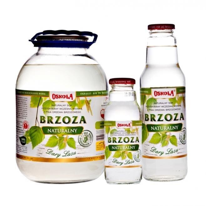 Osokoła Sok z Brzozy naturalny 750 ml.