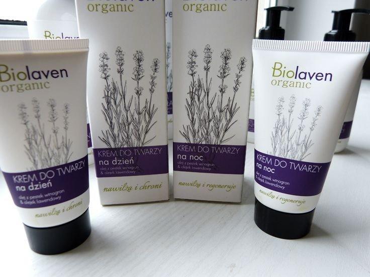 Biolaven Organic - krem do twarzy na dzień 50 ml.