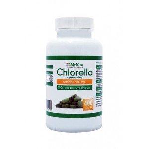 Chlorella 400 tabl. 250 mg. My Vita
