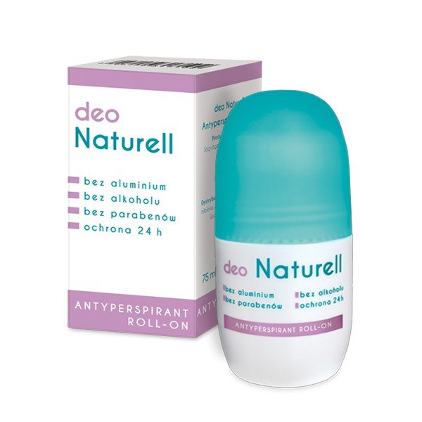 Deo Naturell - antyperspirant roll-on 75 ml.