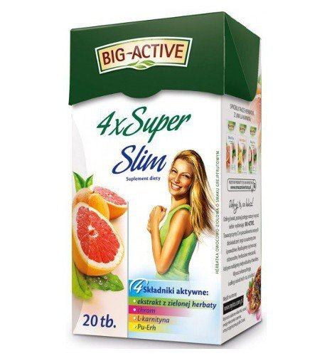 4x Super Slim 20 torebek