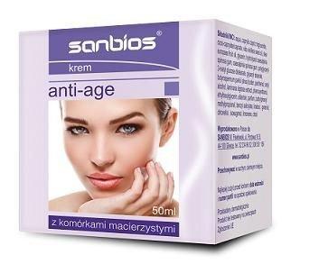 Anti-Age Krem z komórkami macierzystymi SANBIOS 50 ml