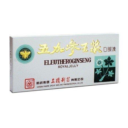 Eleuthero Ginseng Royal Jelly 10 ampułek