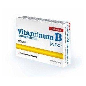 Vitaminum B compositum tabl.drażow. 50tabl