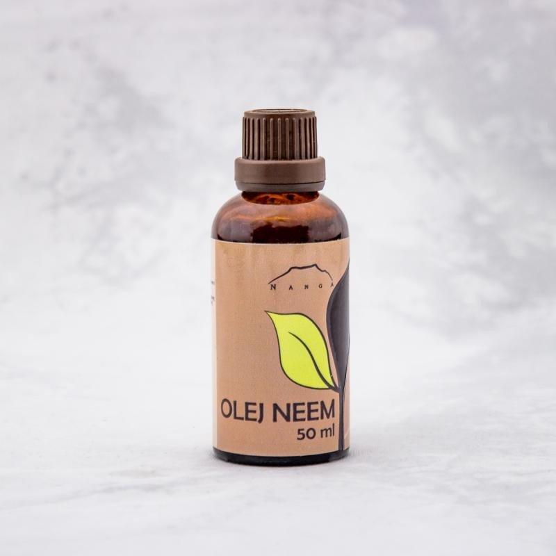 Olej Neem nierafinowany 50 ml.