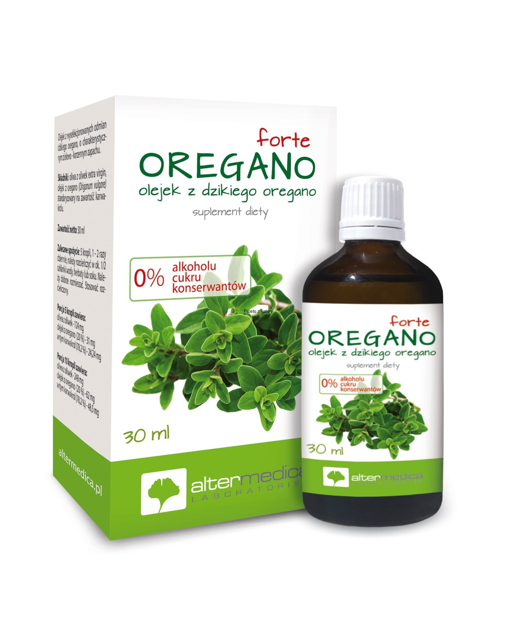 Olej Oregano Forte 30ml ALTER MEDICA
