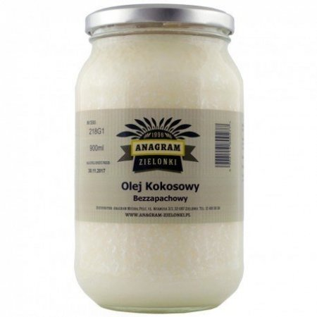 Olej Kokosowy - Bezzapachowy 800G