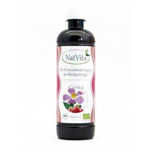 Koncentart napoju probiotycznego BIO Czystek i skórka dzikiej róży 500 ml