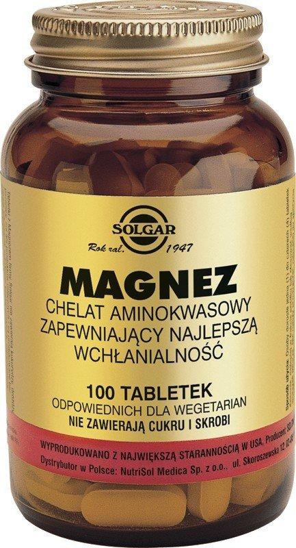 Magnez Chelat SOLGAR