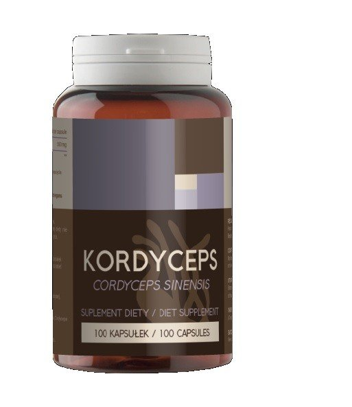 Kordyceps 500mg x 100 kap Cordyceps