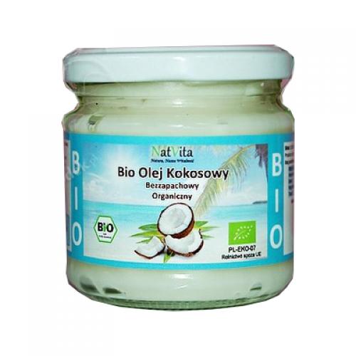 Olej Kokosowy BIO bezzapachowy - 200ml