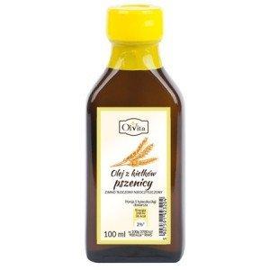 Olej z kiełków Pszenicy tłoczony na zimno 100ml.