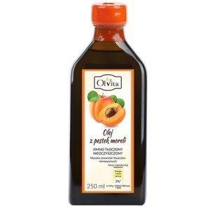Olej z pestki moreli tłoczony na zimno - witamina B17 - 250 ml