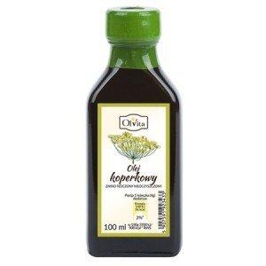 Olej koperkowy tloczony na zimno nieoczyszczony 100 ml