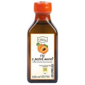 Olej z pestki moreli tłoczony na zimno - witamina B17 - 100 ml