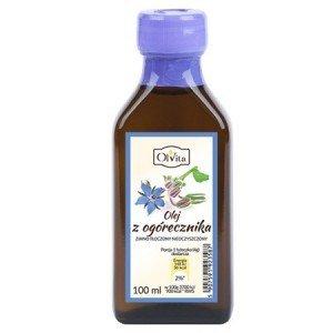 Olej z nasion Ogórecznika tłoczony na zimno 100ml.