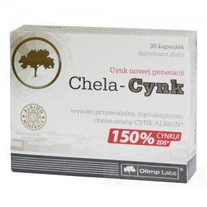 Olimp Chela-Cynk kaps. 30 kaps.