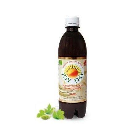JOY DAY Eko Koncentrat napoju probiotycznego CHMIEL poj. 500 ml.