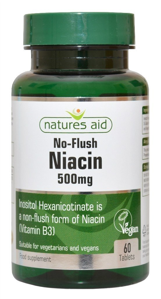 NATURES AID Niacyna B3 500mg 60 tabl.