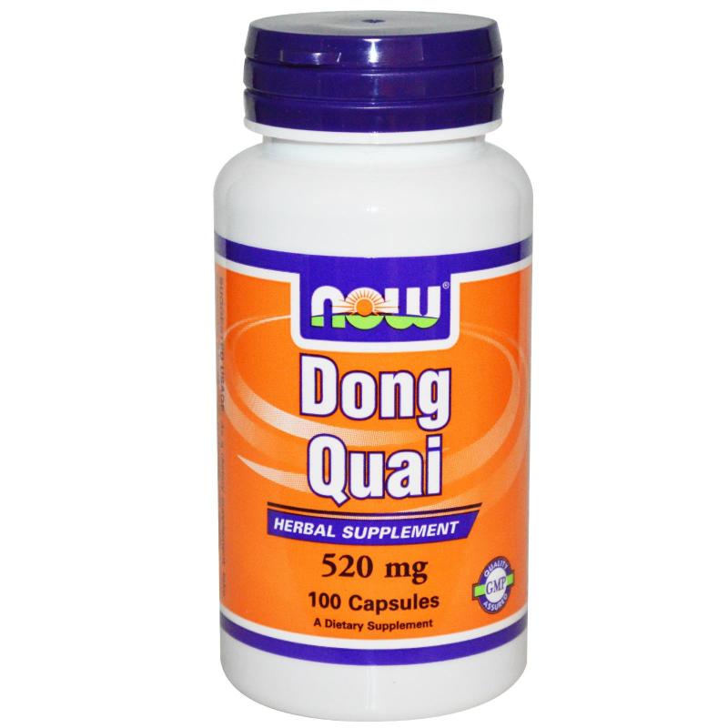 DONG QUAI 520MG - 100KAPS - NOW