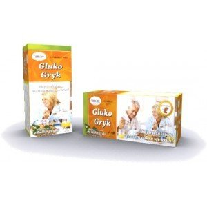 Gluko Gryk 60 saszetek herbatka