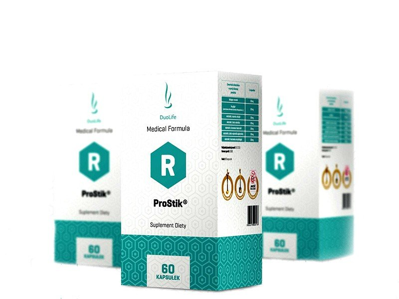 DUOLIFE MEDICAL FORMULA PROSTIK,60kap.