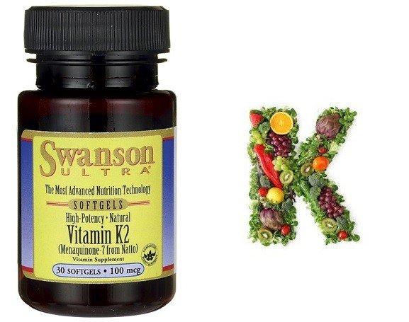 *SWANSON Witamina K2 50mcg 30tabl.