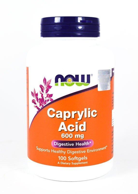 Swanson Caprylic Acid - Kwas Kaprylowy 600mg.100kap.