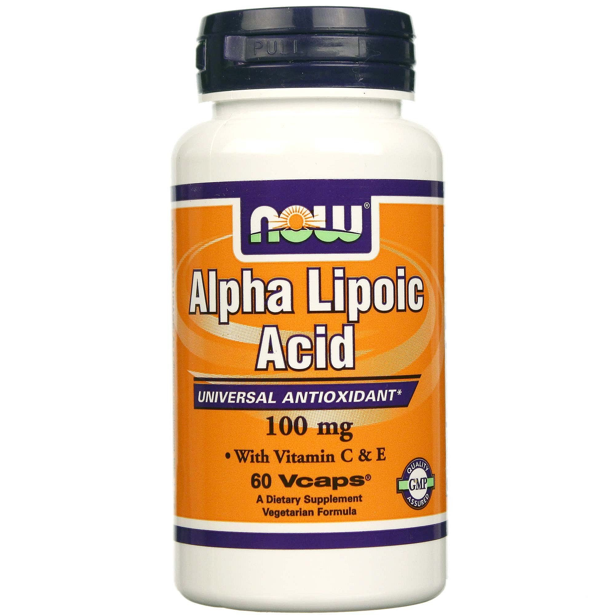 NOW FOODS ALPHA LIPOIC ACID 100mg.60 kap.