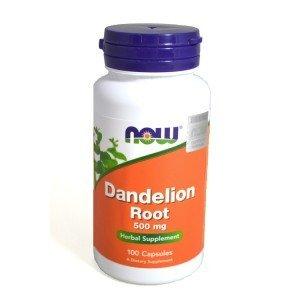 NOW Foods Dandelion Root Korzeń mniszka 500mg 100kaps