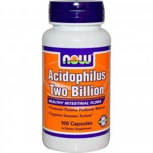 NOW Foods Acidophilus Two Billion 100kaps