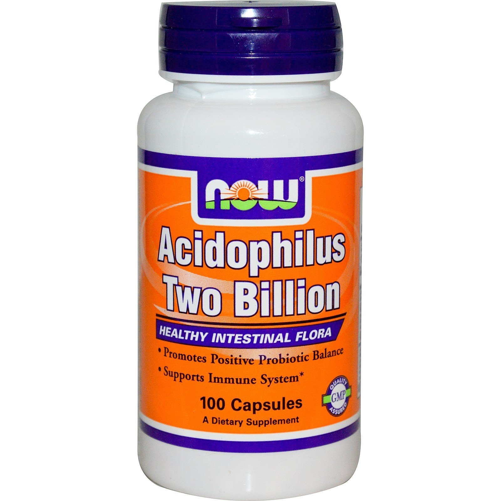 NOW Foods Acidophilus Two Billion 100kaps