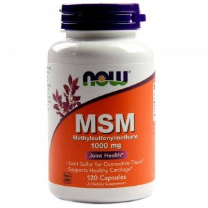 NOW FOODS MSM Methylsulphonylmethane 1000mg 120kap.