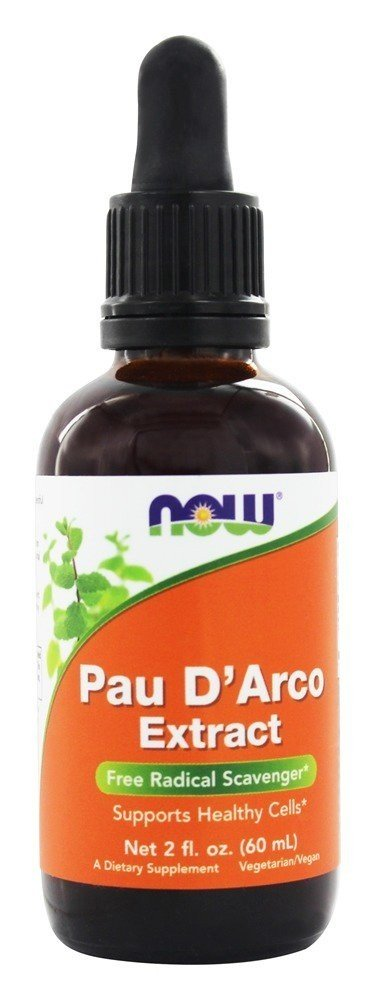 NOW FOODS Pau D'arco extract 60 ml