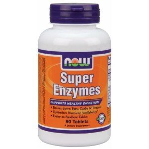 NOW FOODS Super Enzymes 90 kap.