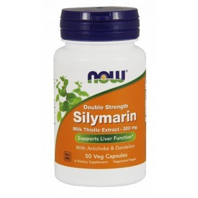 NOW FOODS Silymarin Milk Thistle Extract 300mg 100