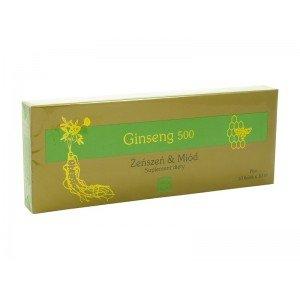 Ginseng 500 Żeńszeń & Miód płyn 10fiolek