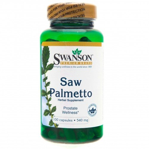 SWANSON Saw Palmetto 540 mg 100 kap.