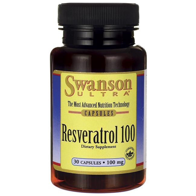 SWANSON RESVERATROL,100mg,30 kap.