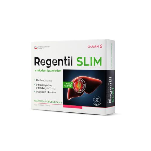 COLFARM, Regentil Slim, 30 tabl
