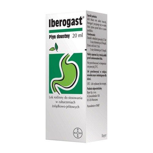 BAYER, Iberogast płyn doustny, 50ml.