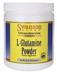 SWANSON AjiPure L-Glutamine Powder, 340g.