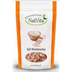 NatVita, Sól Kłodawska Gruboziarnista, 1kg.