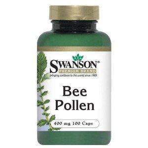 SWANSON, Bee Pollen (pyłek pszczeli), 400mg, 100 kap.