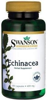SWANSON, Echinacea 400mg, 100 kap