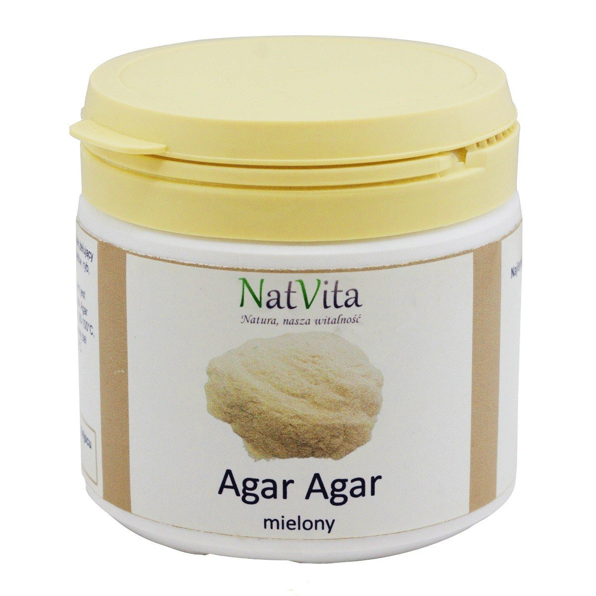 Agar Agar 100g, naturalny środek żelujący