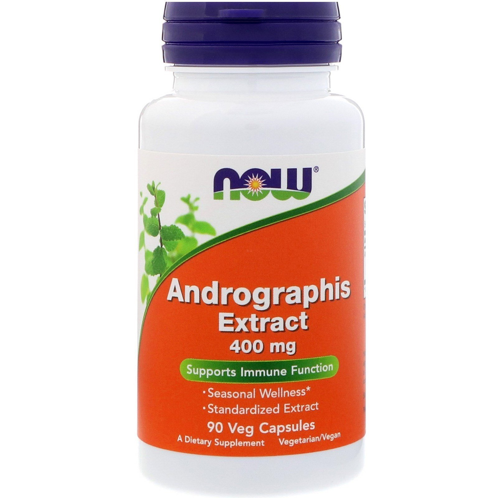 NOOW FOODS, Andrographis Extract, 400mg, 90kap.